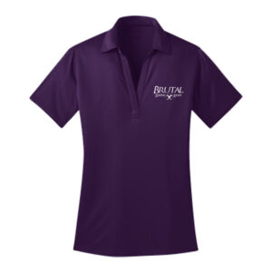 Brutal Logo Ladies PosiCharge Polo