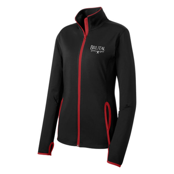 Brutal Logo Ladies Full Zip Sport Jacket