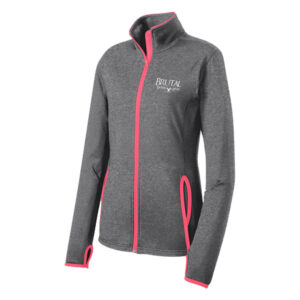 Brutal Logo Ladies Full Zip Sport Jacket